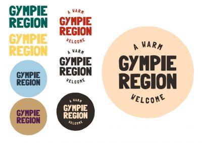 Gympie Region Brand Story - logo family