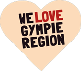 Gympie Region Brand Story - infographic heart Gympie