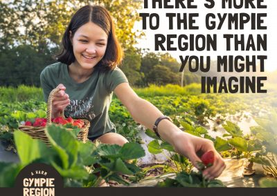 Gympie Region Brand Story - social post example