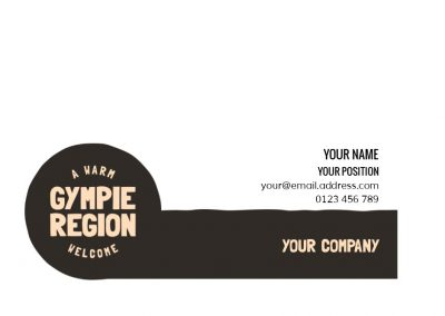 Gympie Region Brand Story - template email signature