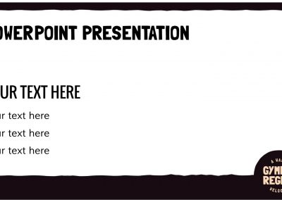 Gympie Region Brand Story - template presentation