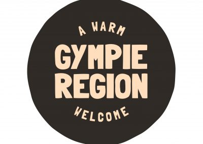 Gympie Region Brand Story - logo tag device grit